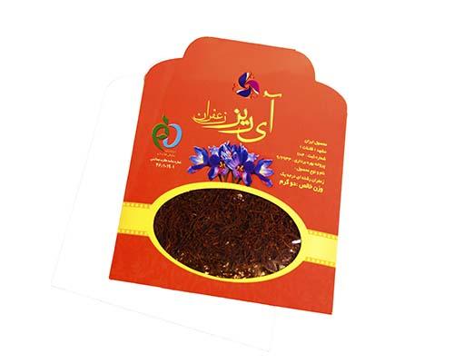 خرید زعفران نگین 2گرمی