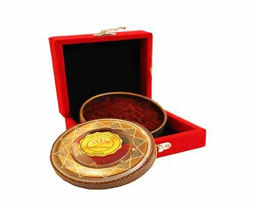 پک هدیه مخمل زعفران