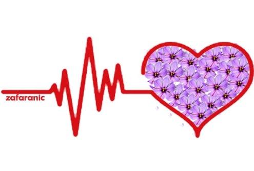 خواص زعفران برای قلب