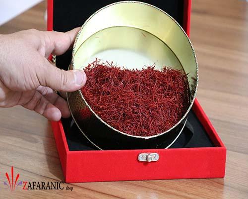 خرید جعبه کادویی 100 گرم زعفران